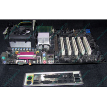 Материнская плата Intel D845PEBT2 (FireWire) с процессором Intel Pentium-4 2.4GHz s.478 и памятью 512Mb DDR1 Б/У (Дзержинский)